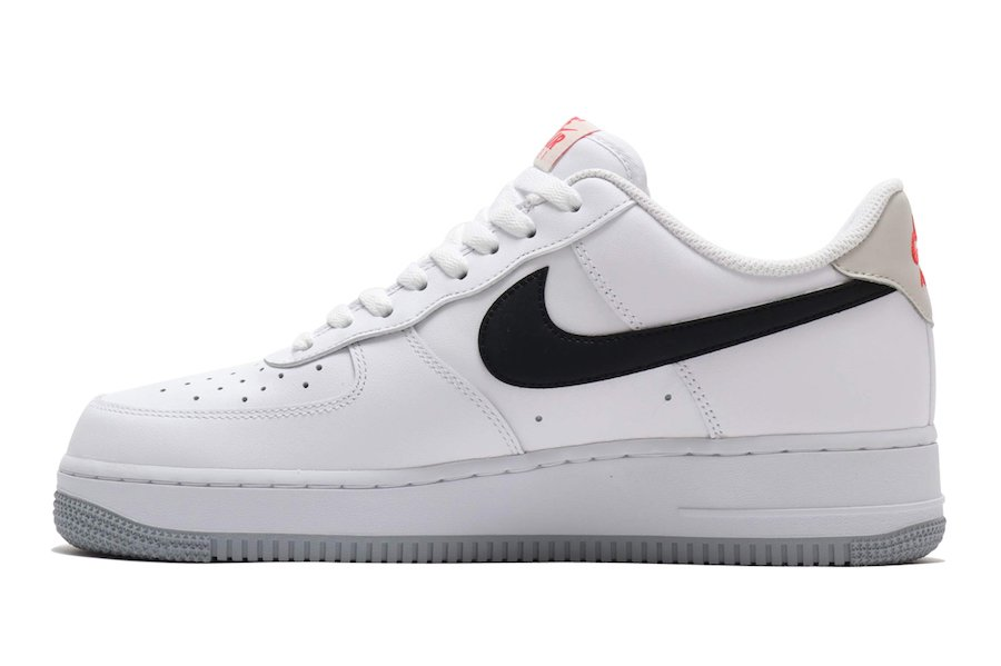 Nike Air Force 1 Low White Black Bone Ember Glow CK0806-100 Release Date Info