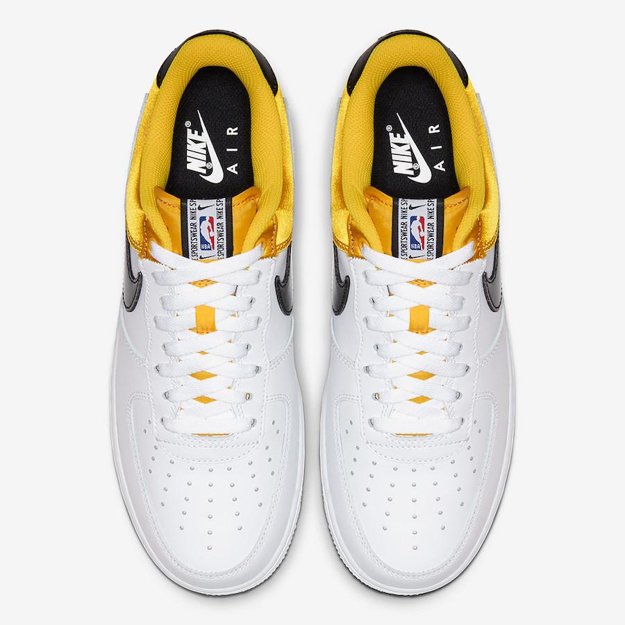 Nike Air Force 1 NBA Amarillo Satin BQ4420-700 Release Date Info