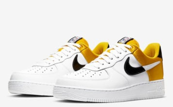 Nike Air Force 1 NBA Amarillo Satin BQ4420-700 Release Date Info