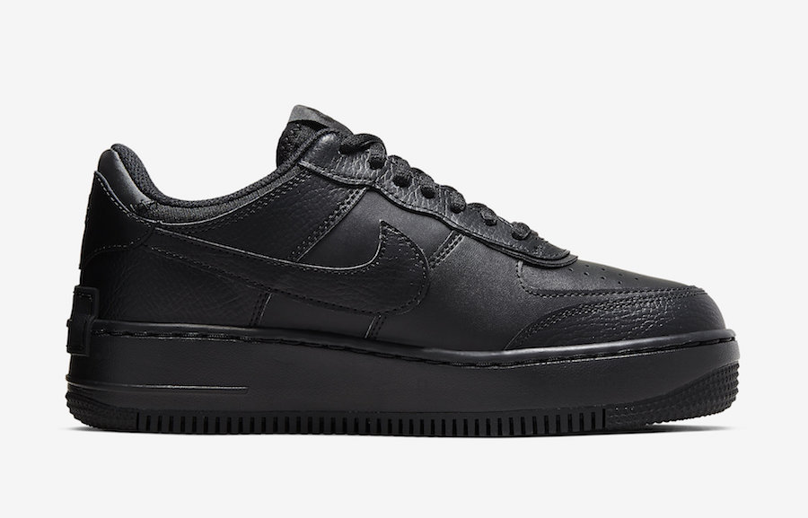 Nike Air Force 1 Shadow Black CI0919-001 Release Date Info