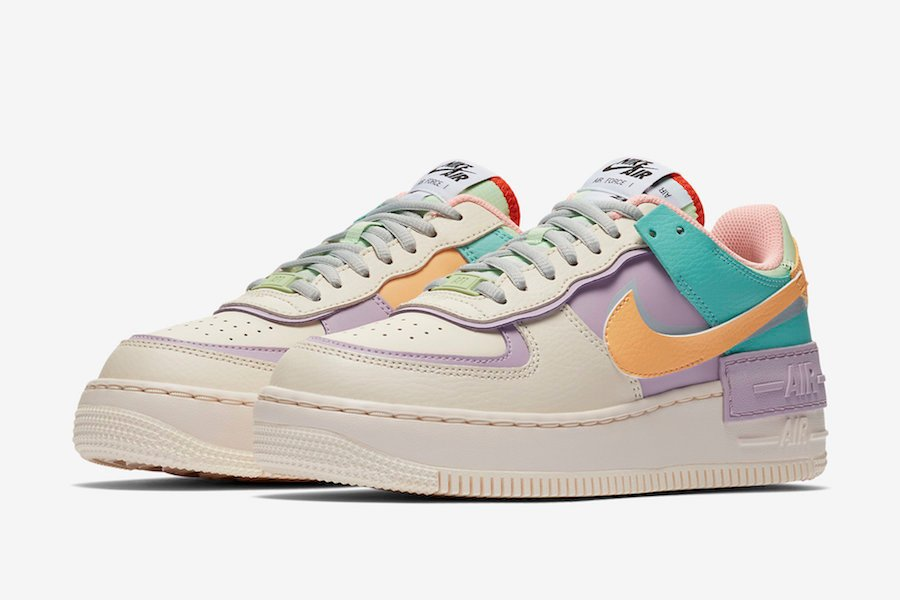air force 1 nike shadow pastel