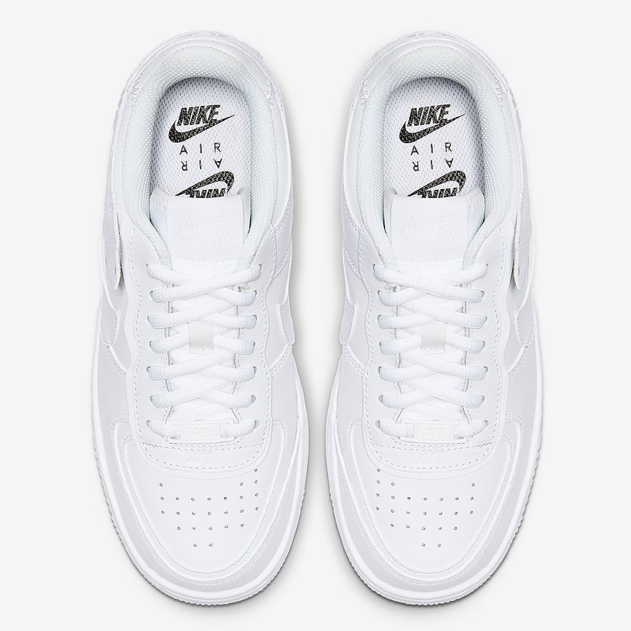 Nike Air Force 1 Shadow White CI0919-100 Release Date Info