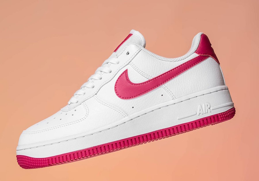 Nike Air Force 1 Wild Cherry Red AH0287-107 Release Date Info