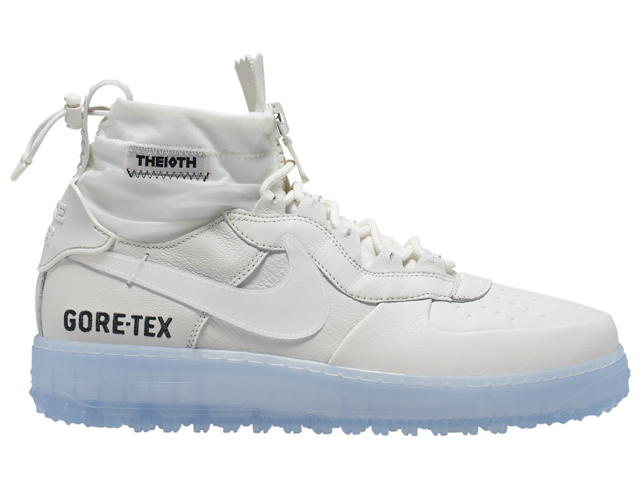 Nike Air Force 1 WTR Gore-Tex White CQ7211-002 Release Date Info