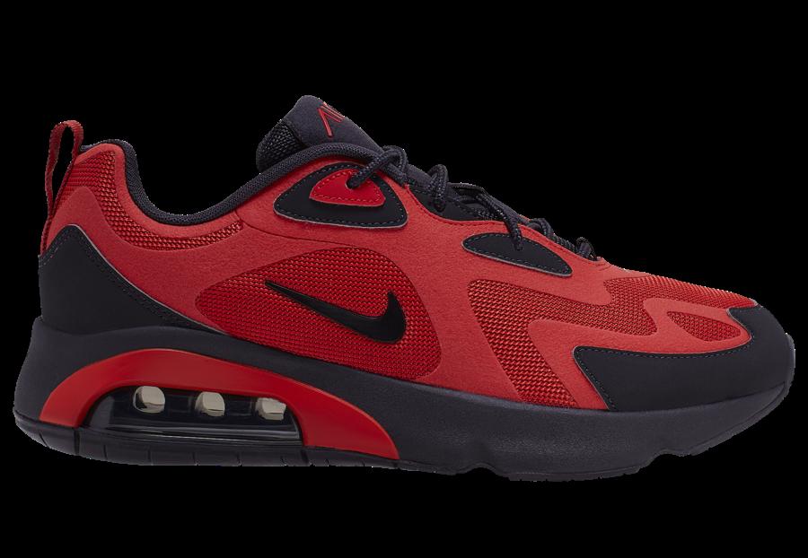 Nike Air Max 200 Red Black AQ2568-600 Release Date Info