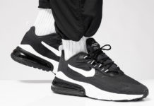 Nike Air Max 270 React Black White AO4971-004 Release Date Info