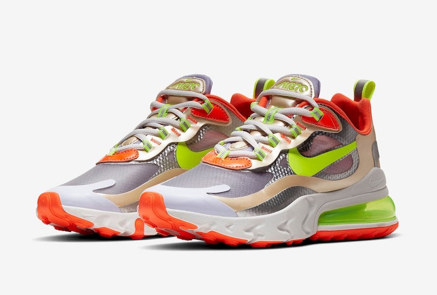 Nike Air Max 270 React CQ0210-101 Release Date Info | SneakerFiles