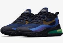 Nike Air Max 270 React Deep Royal Blue Gold AO4971-005 Release Date Info