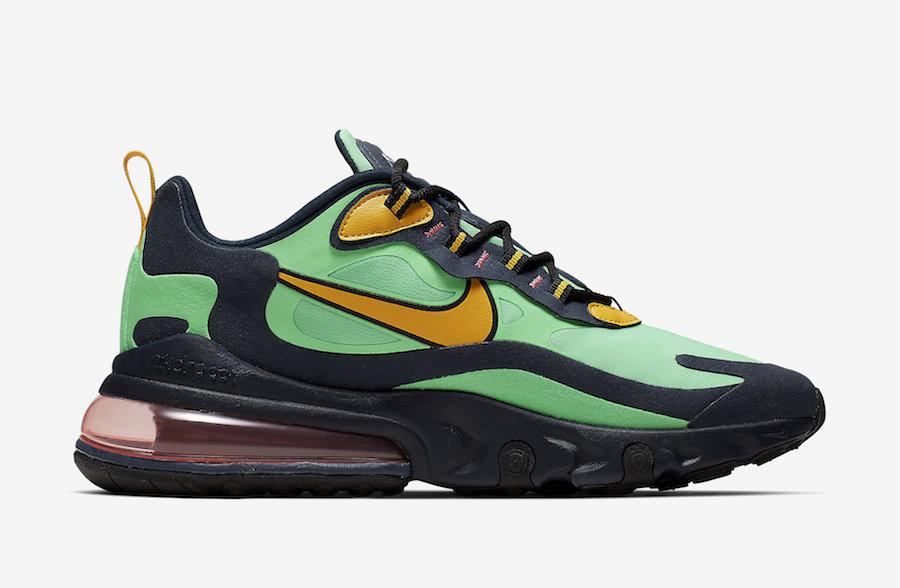 Nike Air Max 270 React Electro Green AO4971-300 Release Date Info