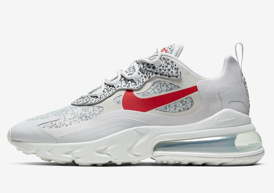 Nike Air Max 270 React Safari CT2535-001 Release Date Info