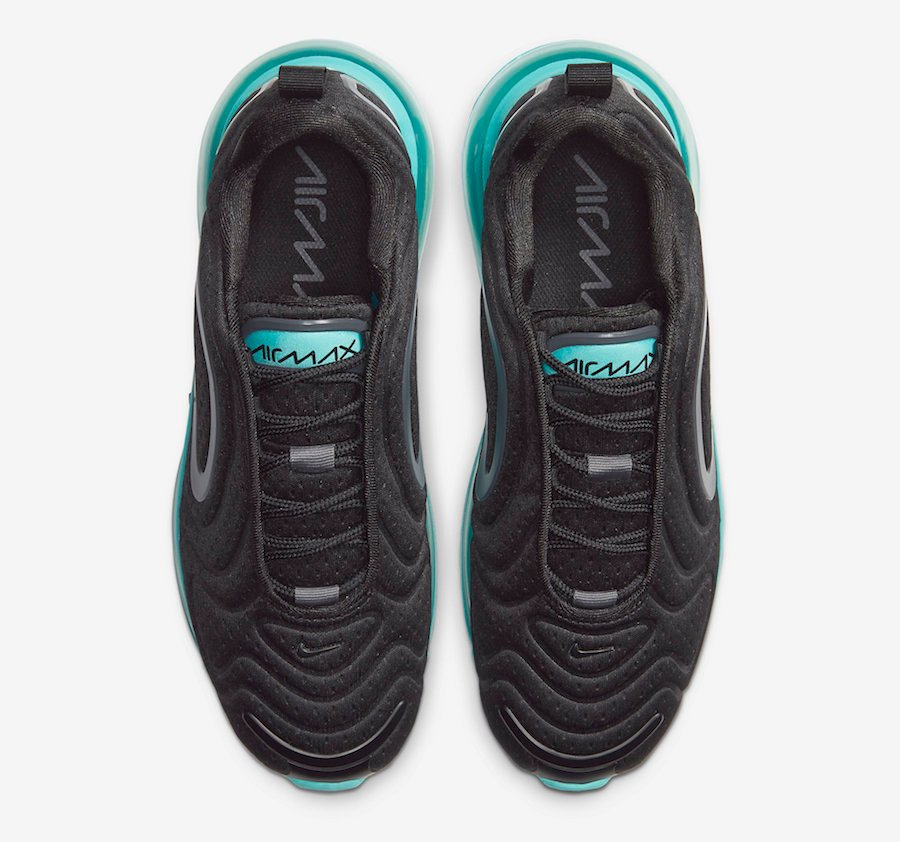 Nike Air Max 720 Black Teal AR9293-010 Release Date Info