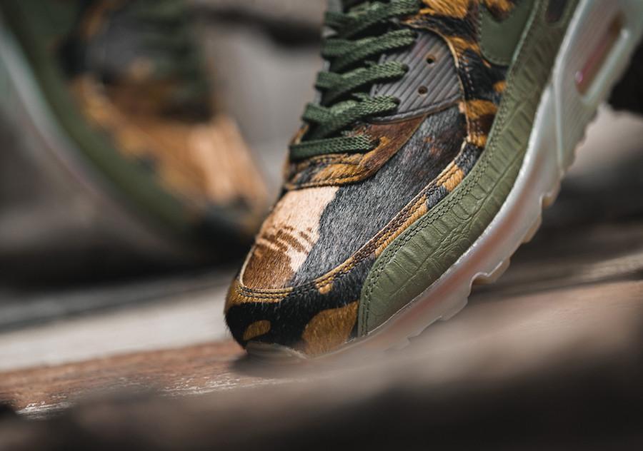 Nike Air Max 90 Croc Camo CU0675-300 Release Date Info