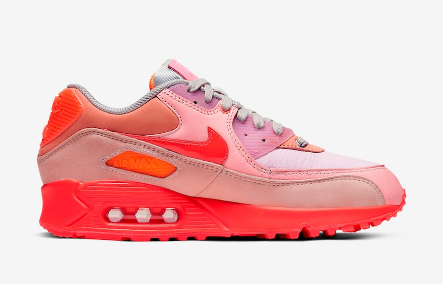 Nike Air Max 90 Pink Purple Beige CT3449 600 Release Date