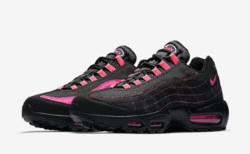 Nike Air Max 95 Black Pink Split CU1930-066 Release Date
