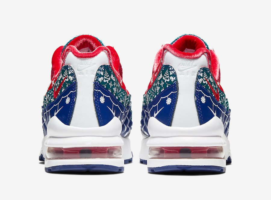 Nike Air Max 95 Christmas Sweater CT1593-100 Release Date Info