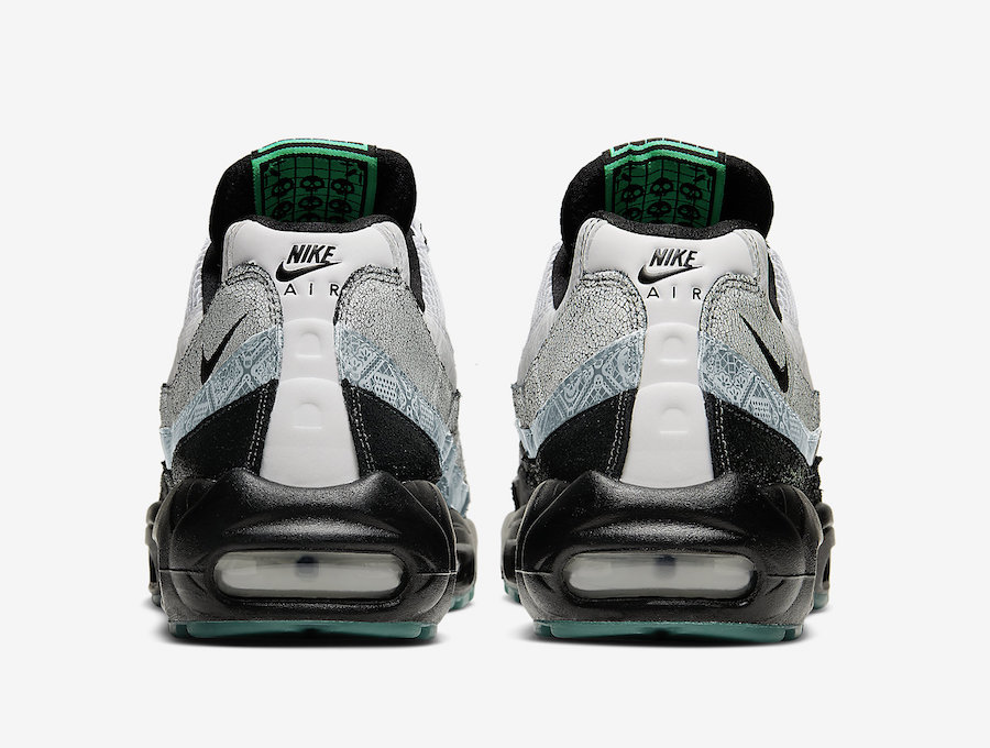 Nike Air Max 95 Day of the Dead CT1139-001 Release Date Info