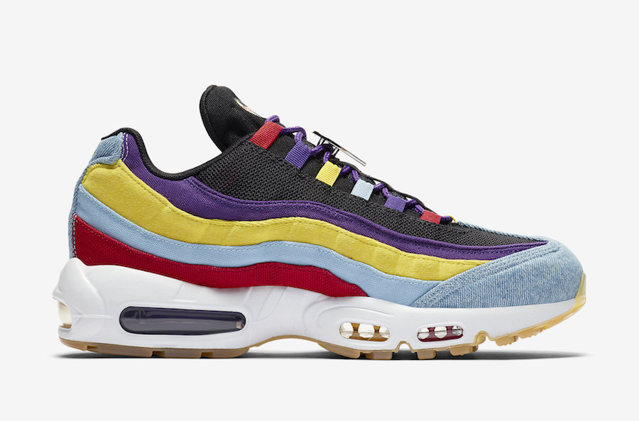 Nike Air Max 95 Multicolor CK5669-400 Release Date