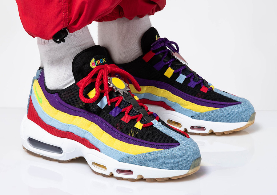 Nike Air Max 95 SP Multicolor CK5669-400 On Feet