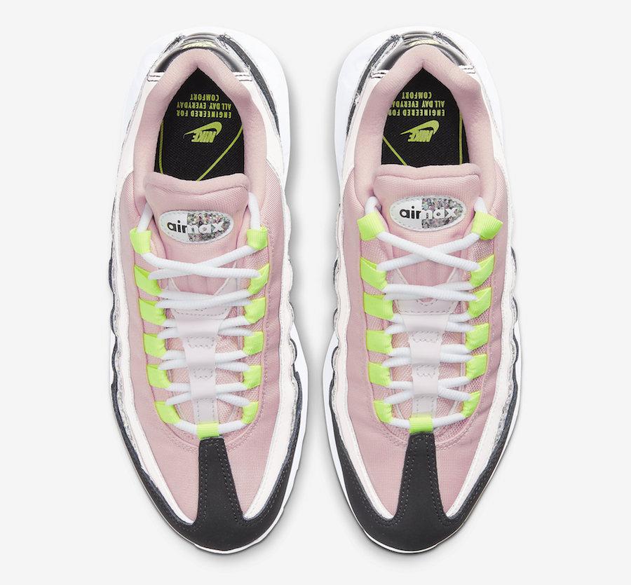 Nike Air Max 95 WMNS Glitter 918413 006 Release Date Info