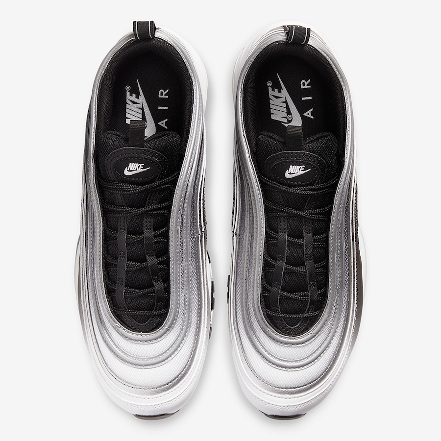 Nike Air Max 97 Black White 921826-016 Release Date Info