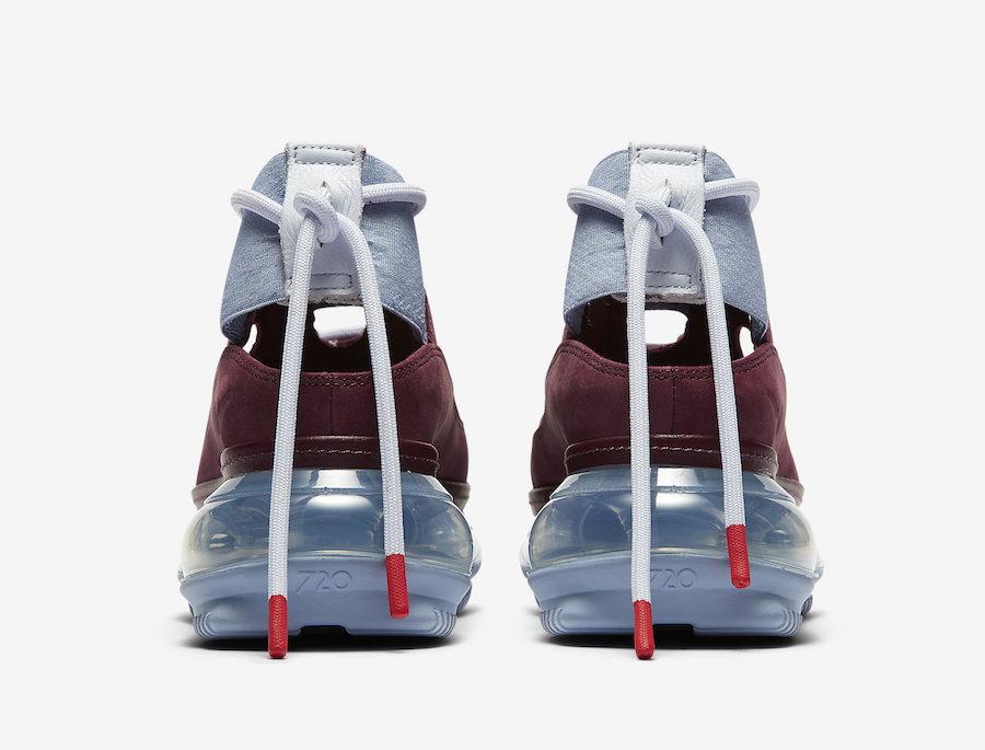 Nike Air Max FF 720 Maroon AO3189-600 Release Date Info