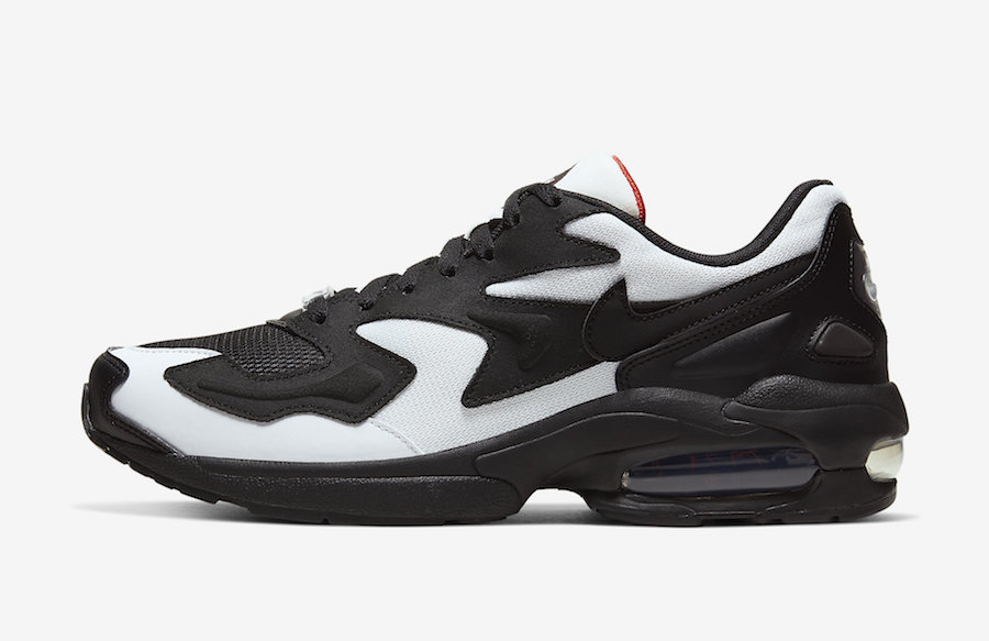 Nike Air Max2 Light White Black AO1741-106 Release Date Info