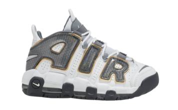 Nike Air More Uptempo GS Anthracite Snakeskin CQ4583-100 Release Date Info