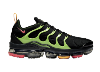 Nike Air VaporMax Plus Black Lime Green CU4884-001 Release Date