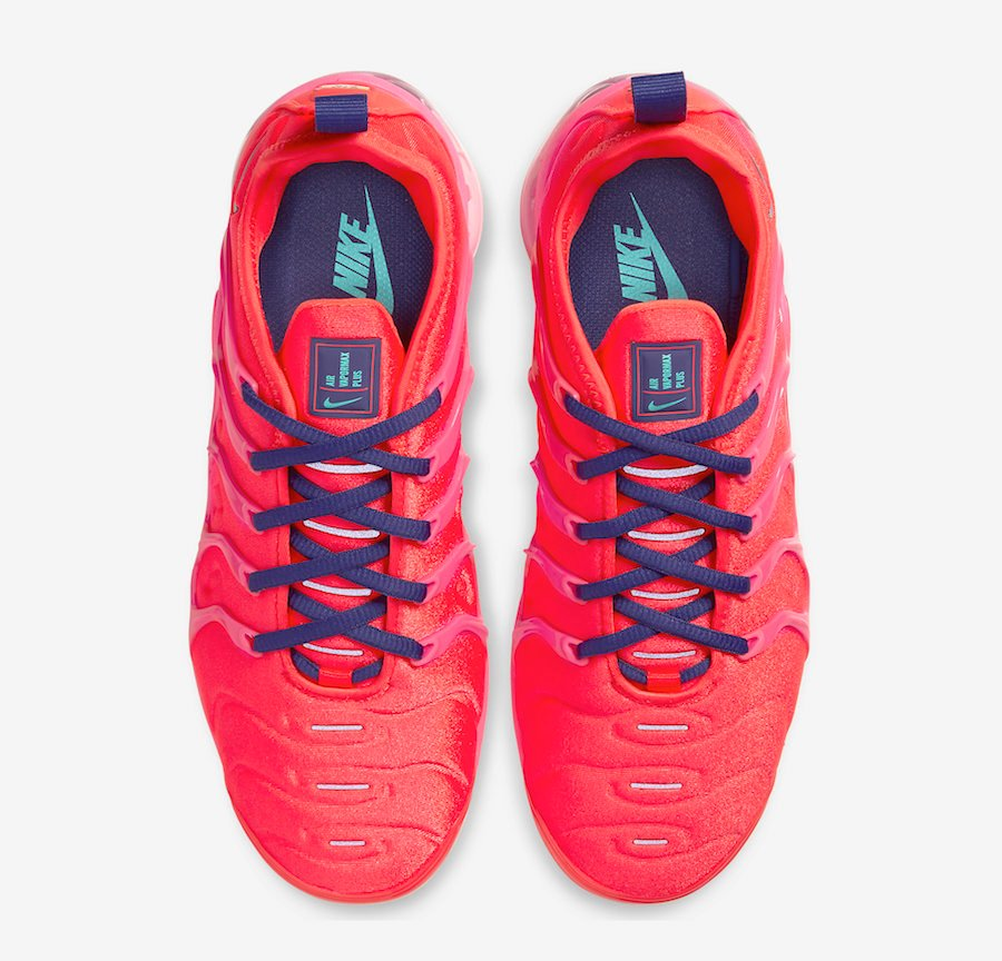 Nike Air VaporMax Plus Neon Red Pink CU4907-600 Release Date Info