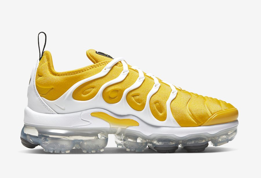 Nike Air VaporMax Plus Yellow White CU4907-700 Release Date Info
