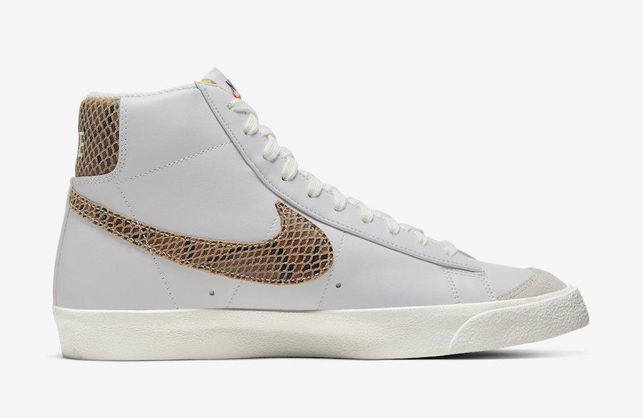 Nike Blazer Mid Bronze Snakeskin CI1176-002 Release Date Info