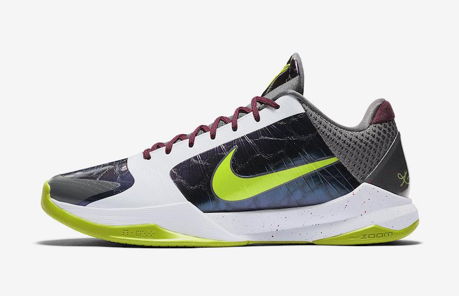 Nike Kobe 5 Protro Chaos Joker CD4991-100 Release Date