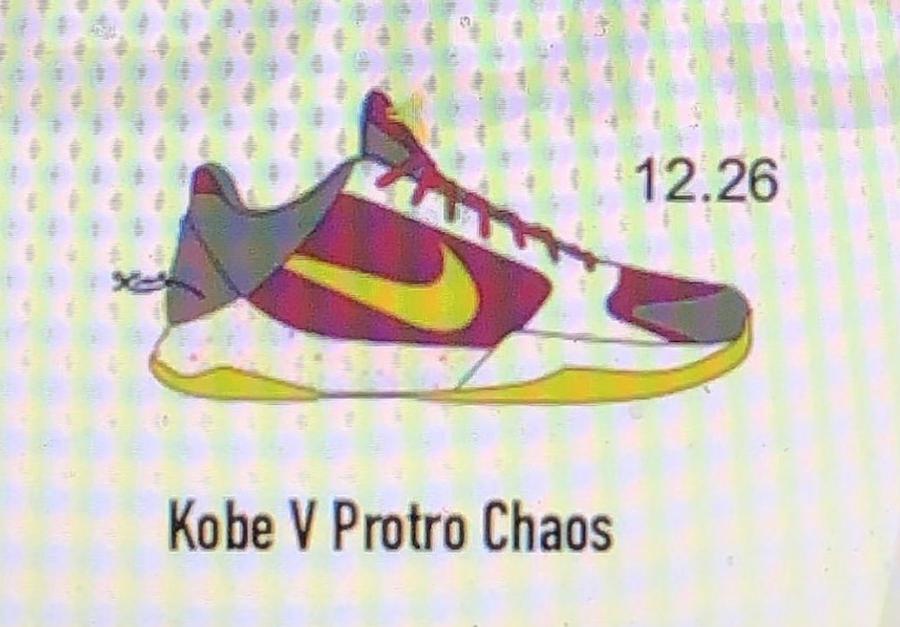 Nike Kobe 5 Protro Chaos Joker