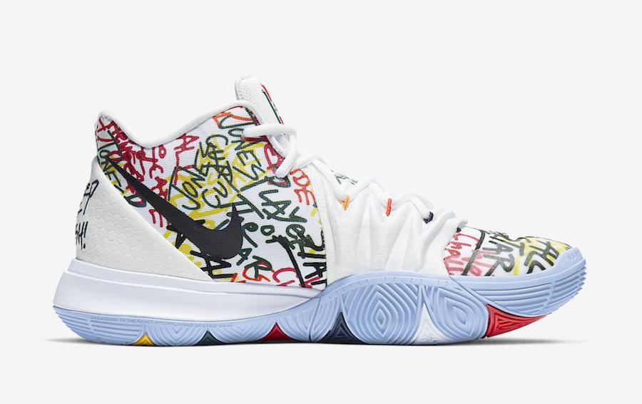 Nike Kyrie 5 Keep Suede Bird Fresh CW2771-100 Release Date Info