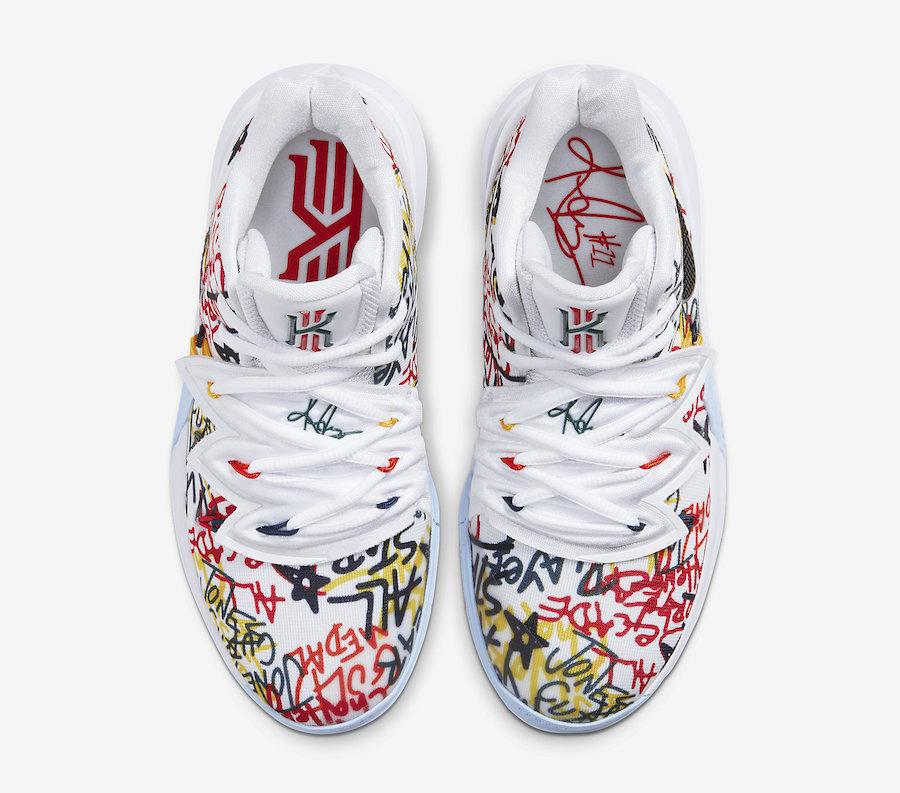 Nike Kyrie 5 Keep Sue Fresh CW4403-100 Release Date