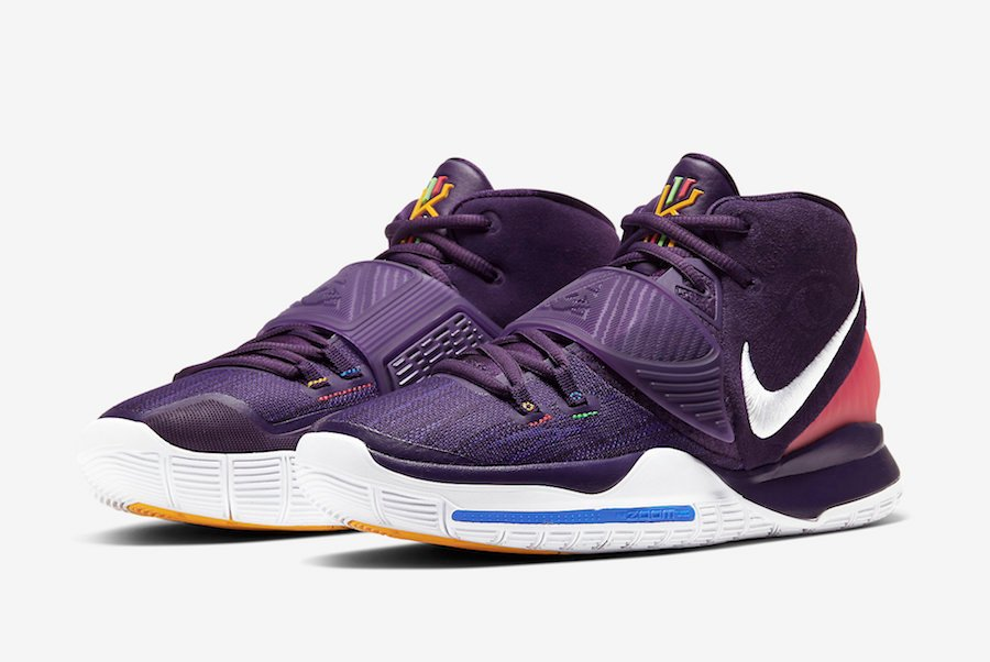 Nike Kyrie 6 Grand Purple BQ4630-500 Release Date