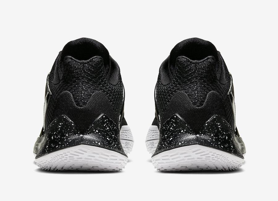 Nike kyrie Low 2 Black Metallic Silver AV6337-003 Release Date Info