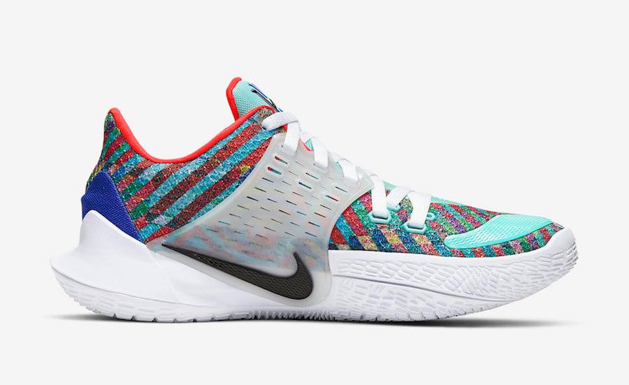 Nike Kyrie Low 2 Multi-Color Light Aqua AV6337-400 Release Date Info