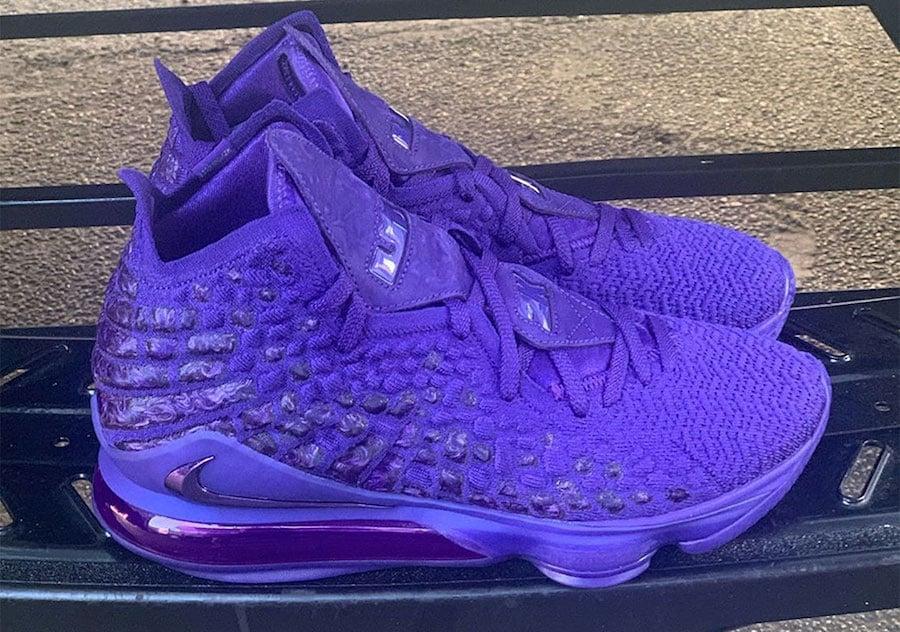 Nike LeBron 17 2K Purple Release Date Info