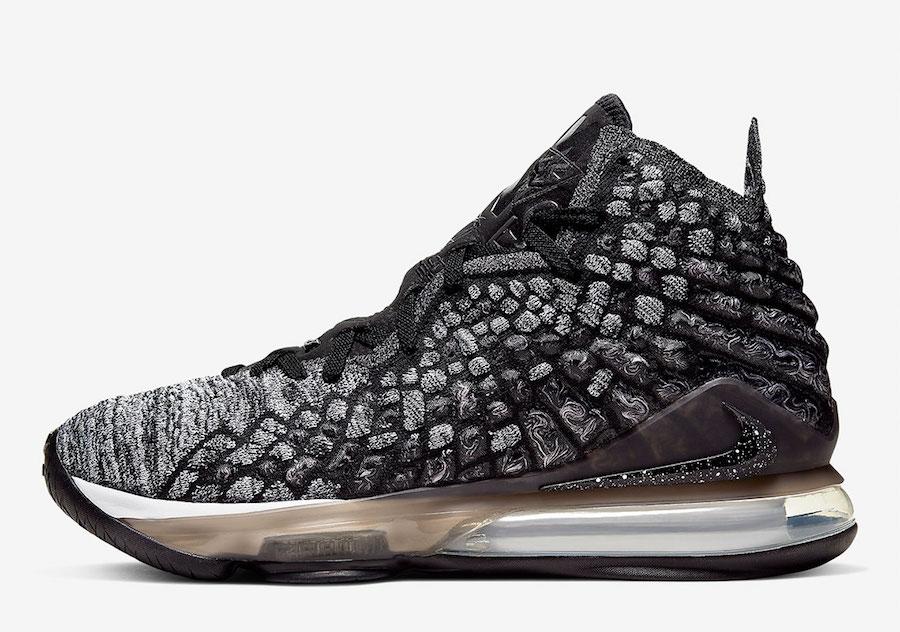 Nike LeBron 17 Black White BQ3177-002 Release Date Info