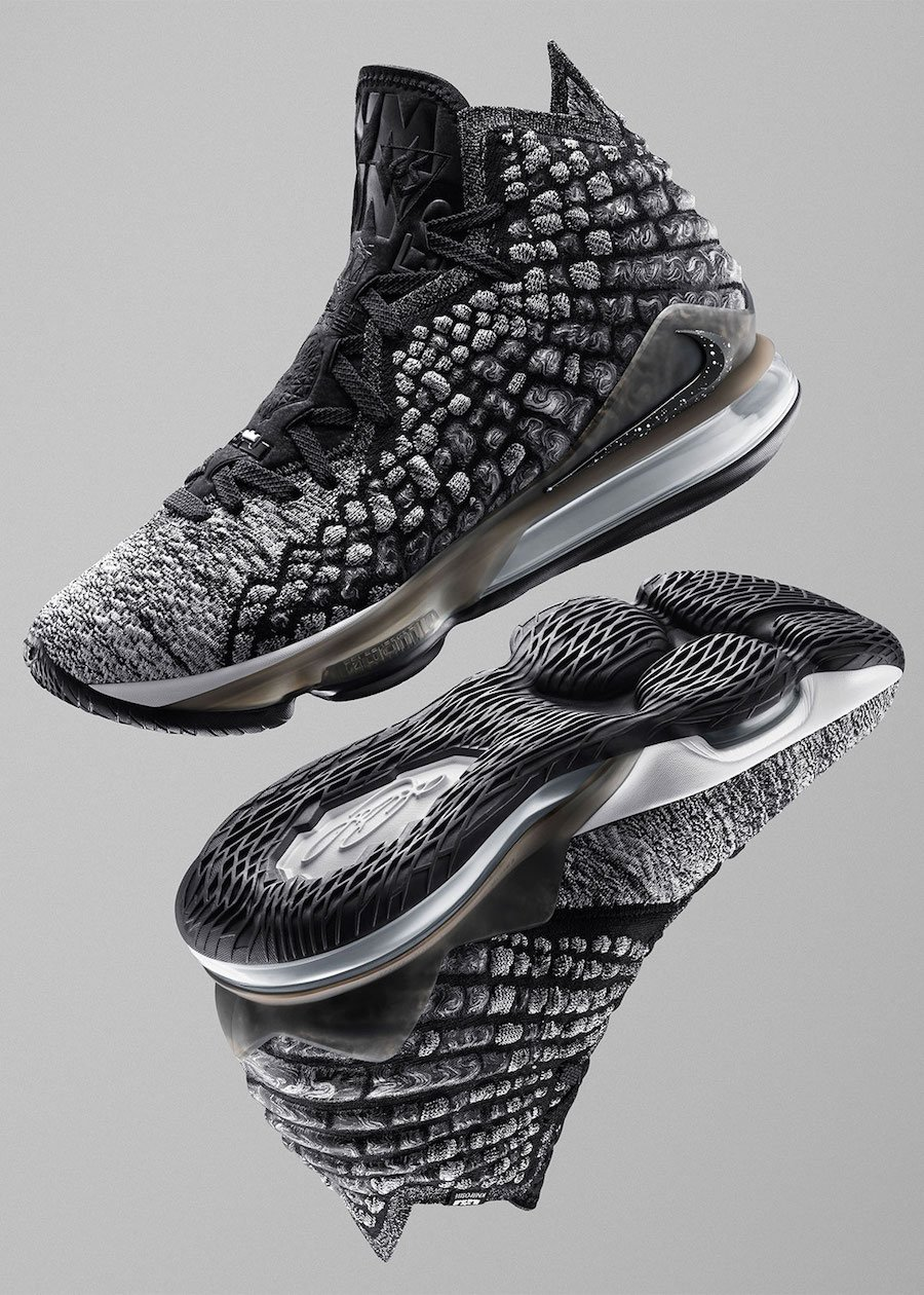 Nike LeBron 17 Black White