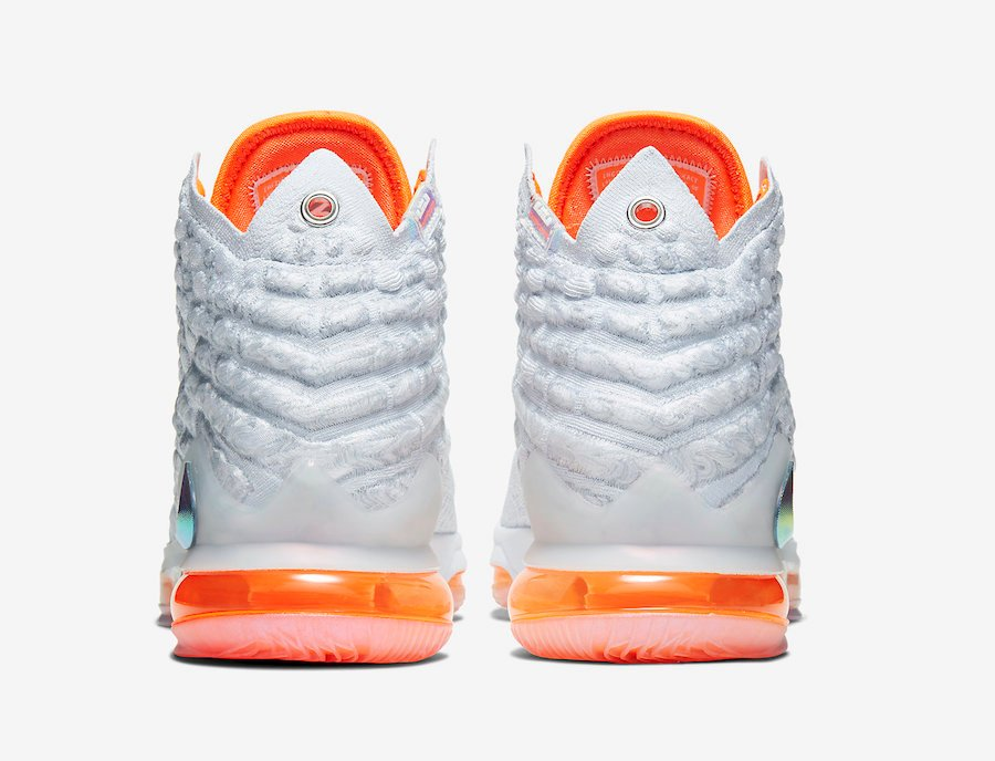 Nike LeBron 17 Future Air CT3843-100 Release Date