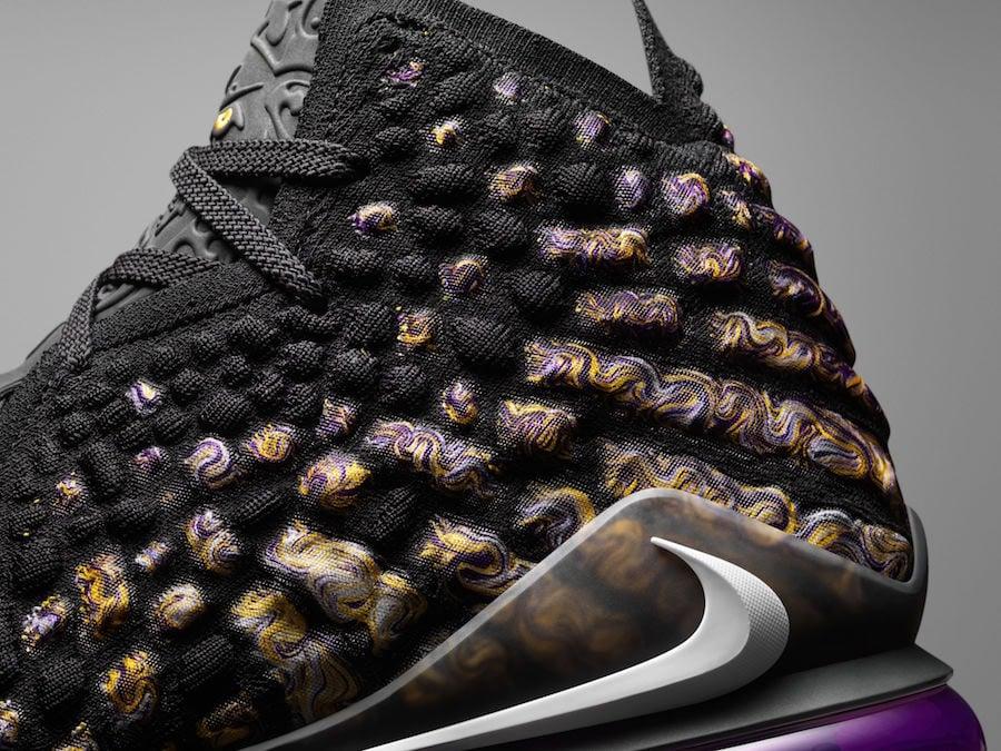 Nike LeBron 17 Knitposite