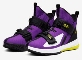 Nike LeBron Soldier 13 Voltage Purple AR4225-500 Release Date Info
