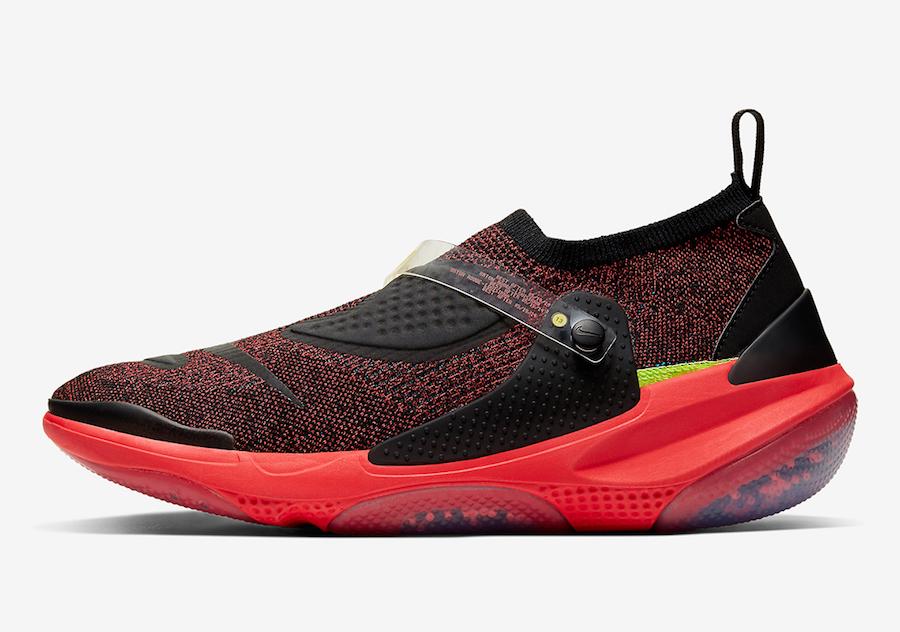 Nike OBJ Joyride Flyknit Black Bright Crimson AV3867-001 Release Date Info