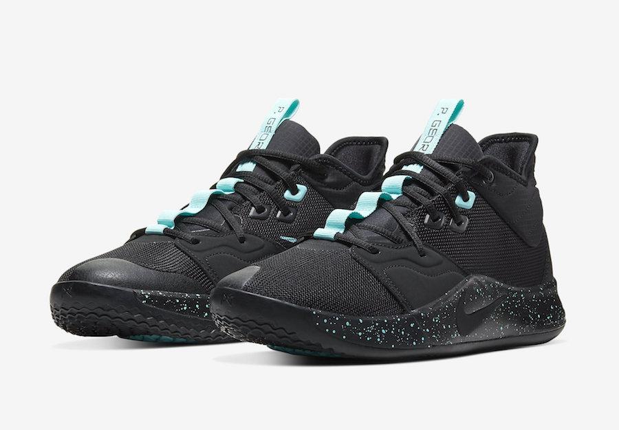 Nike PG 3 Black Light Aqua AO2607-006 Release Date