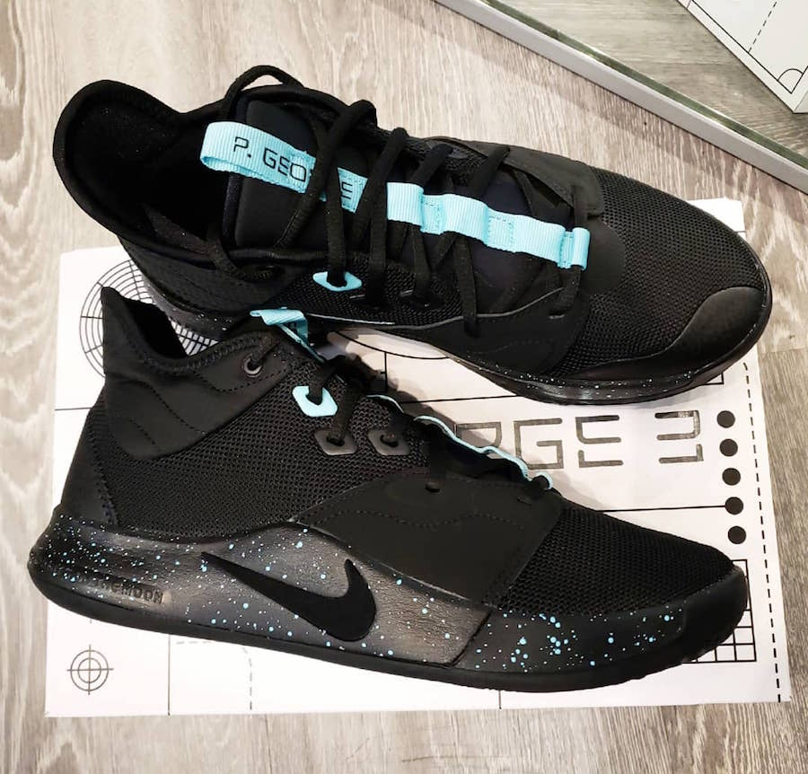 Nike PG 3 Black Light Aqua AO2607-006 Release Date Info
