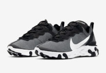 Nike React Element 55 Black White CI3831-002 Release Date Info