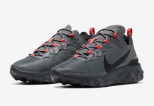 Nike React Element 55 Dark Grey CQ4809-001 Release Date Info