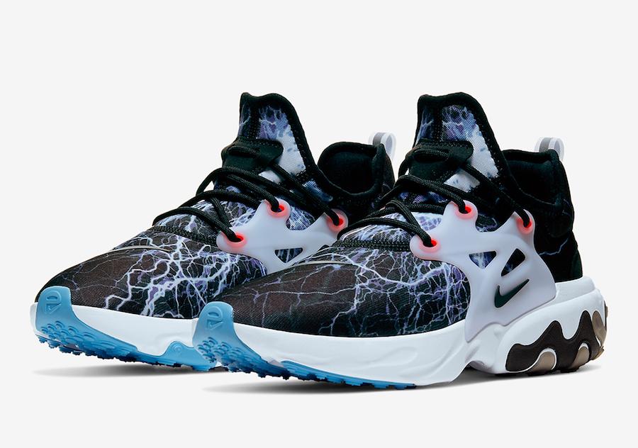 Nike React Presto Lightning Trouble At Home AV2605-006 Release Date Info